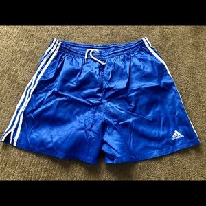 Vintage Adidas Soccer Nylon Shorts